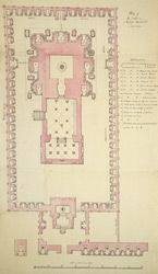 Plan of the Kailasanath Temple, Conjeeveram